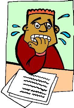 Short essay on exam phobia